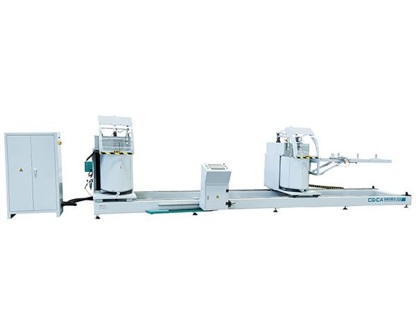 铝型材任意角重型数控切割锯床